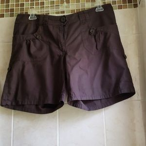 H&M Brown Summer Shorts  Size 14